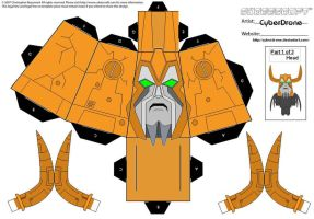 Cubee - Unicron '1of3' by CyberDrone