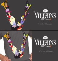 Threadless: V is for Villainous by InYuJi
