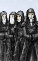 The Greybeards by makotomikami