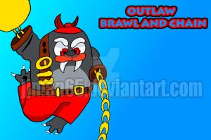Outlaw Brawl and Chain by jjman65