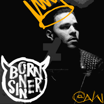J. Cole - Born Sinner (Custom) by KingdomHeartsENT