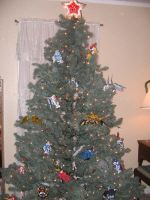SD Gundam Tree by FennFeatherDragon