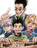 HXH: Happy 15TH Anniversary!!! by CHAOS-CHAOS-CHAOS