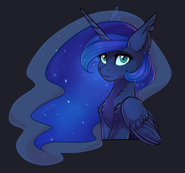 Luna by nightskrill