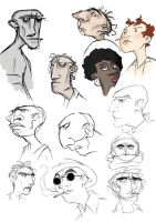 Some faces by Elrohr