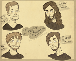 Imagine Dragons. by Fly-Andi