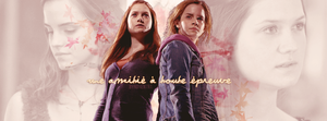 Hermione // Ginny by N0xentra