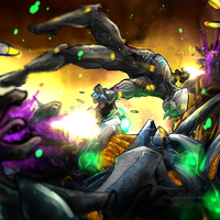 T.O.M. vs The Covenant by Halo-Yokoshima