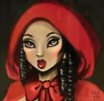 Red Riding Hood by MaRge-KinSon