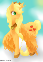 Princess applejack ! by Firefoxyy