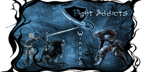 Fight Addicts - banner by rageCry-SM