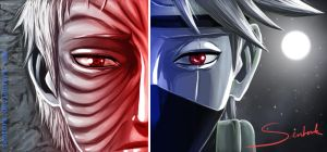 Obito and Kakashi: Two different visions of life by Sentork