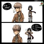 Mikasa you d!ck  by NarwhalEthusiast