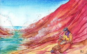 Marcus at the Shore by Verdego
