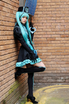 Hatsune Miku Cosplay- Love Philosophia: Dead End by SpicaRy
