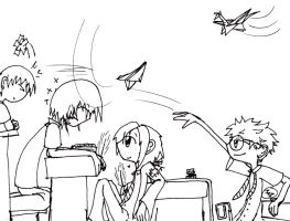 Marauders lineart by invader-zim-14