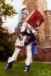 Cosplay: Lana from Hyrule Warriors by Amenoo