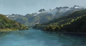 Virtual Plein Air - Chile I by Narholt