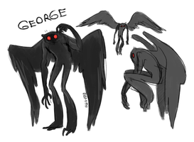 mothman doofuses by VCR-WOLFE