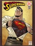 Superman - Bruce Timm by richmbailey