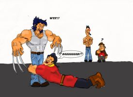 Logan and the odd situation T2 by Sabrerine911