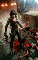 Jennifer Blood Cover by AdmiraWijaya