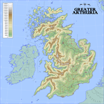 Provinces of Greater Arthuria by Antrodemus