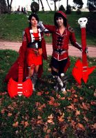 Marshall Lee and Marceline Cosplay (Adventure time by Necroquantum