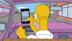 Angry Driving Homer Status Update by Whatsome