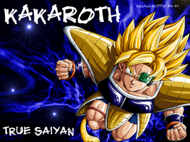Kakaroth SSj wallpaper by BK-81