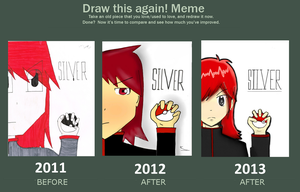 Draw this again meme (and again) by SolidadOfTheStars