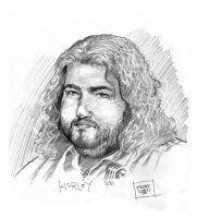 Lost: Hurley by GraphicGeek