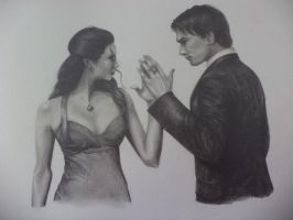 Delena (the return) by CamillE898