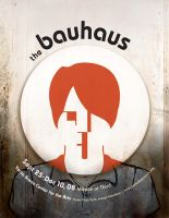The Bauhaus Poster by ANGlove