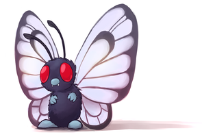 Butterfree by VelociraptorCupcake