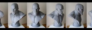 KRATOS BUST LIFE SIZE by ddgcom