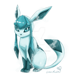 .:Glaceon:. by Crimson-Revelation