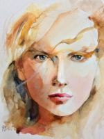 portrait of Nicole Kidman by young920