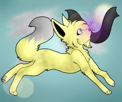 Sparx In The Wind by AkiraKitten