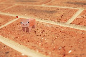 Spider-Pig Minecraft by AmyTak