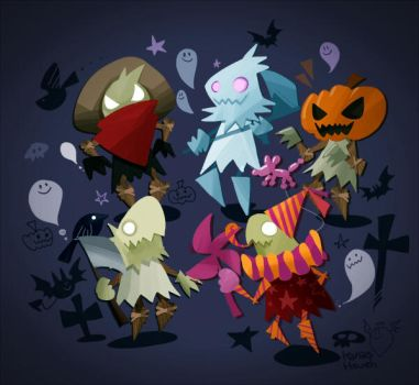 Happy Halloween by inkinesss