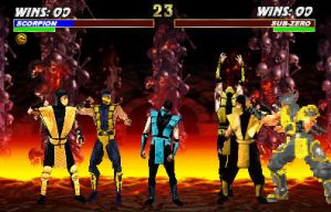 Scorpion's clone fatality 2.0 by Methados