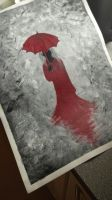 Lady in red by Inebriationn
