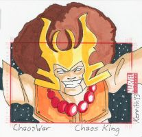 CW - Chaos King by KerrithJohnson