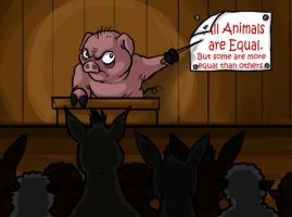 All Animals are Equal. . . by Kata