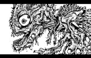 Monster Body Horror by HEY-APATHY-COMICS