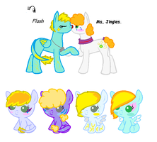 Breedable foals for Blairthewitch by FrankinPoodle
