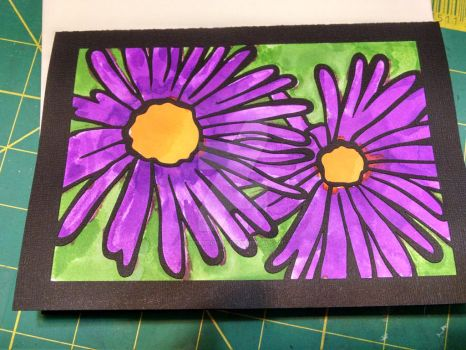 Aster Birthday Card by StudioCutie