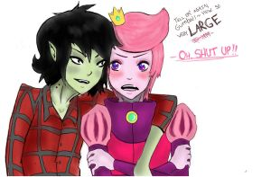 Marshall Lee and PG by TOXIICchiichii
