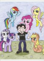 Dan vs. Ponies by DBJay